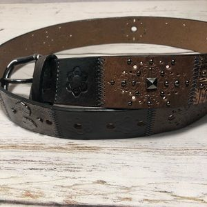Fossil Women's Genuine Leather Belt Size S.